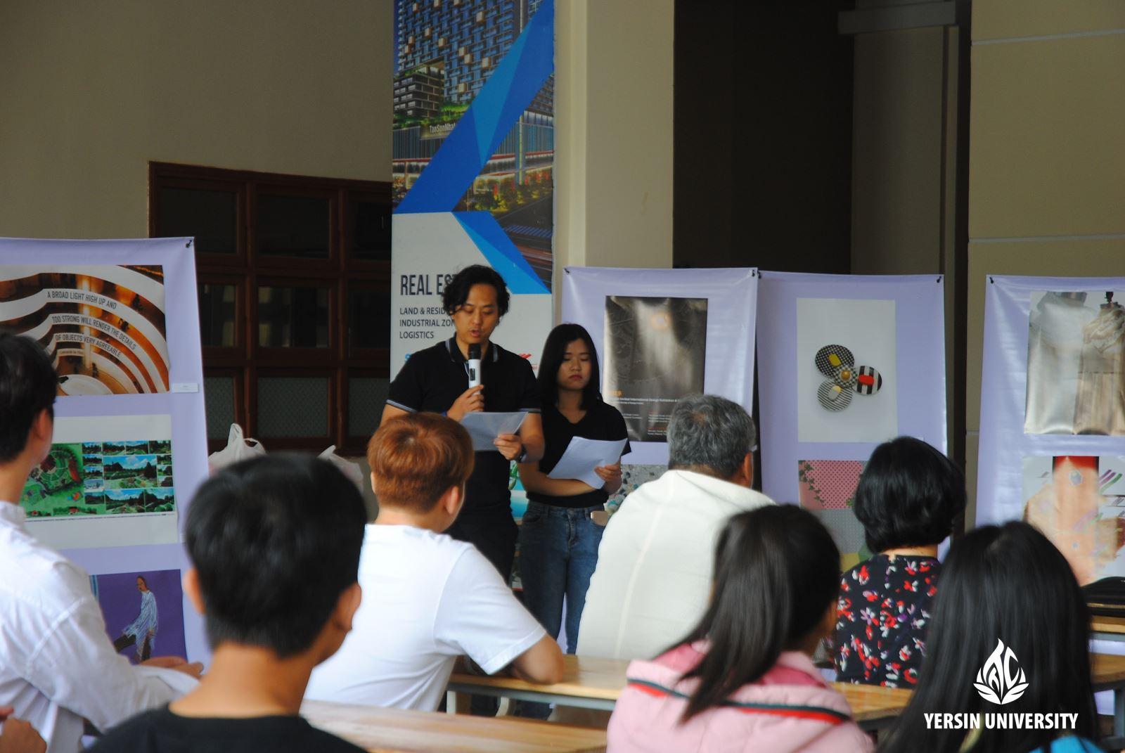 Sinh viên tham dự chương trình Hội thảo Thiết kế Quốc tế mùa hè
