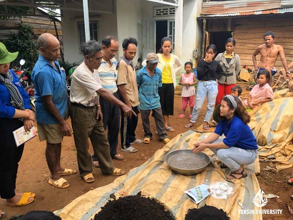 Tập huấn quy trình ủ vỏ cà phê thành phân hữu cơ