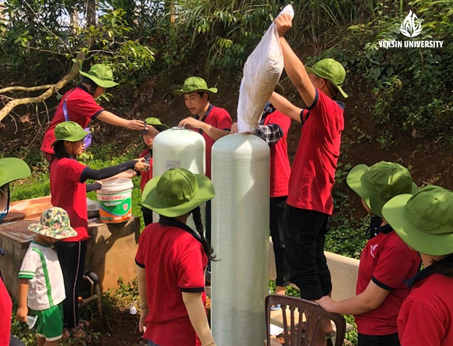 Chiến dịch tình nguyện hè 2019, Mùa hè xanh, Đại học Yersin Đà Lạt