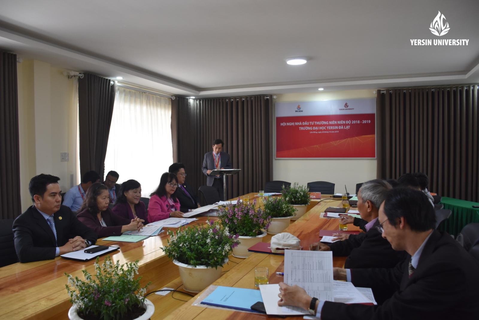 Hội nghị nhà đầu tư thường niên, Đại học Yersin Đà Lạt