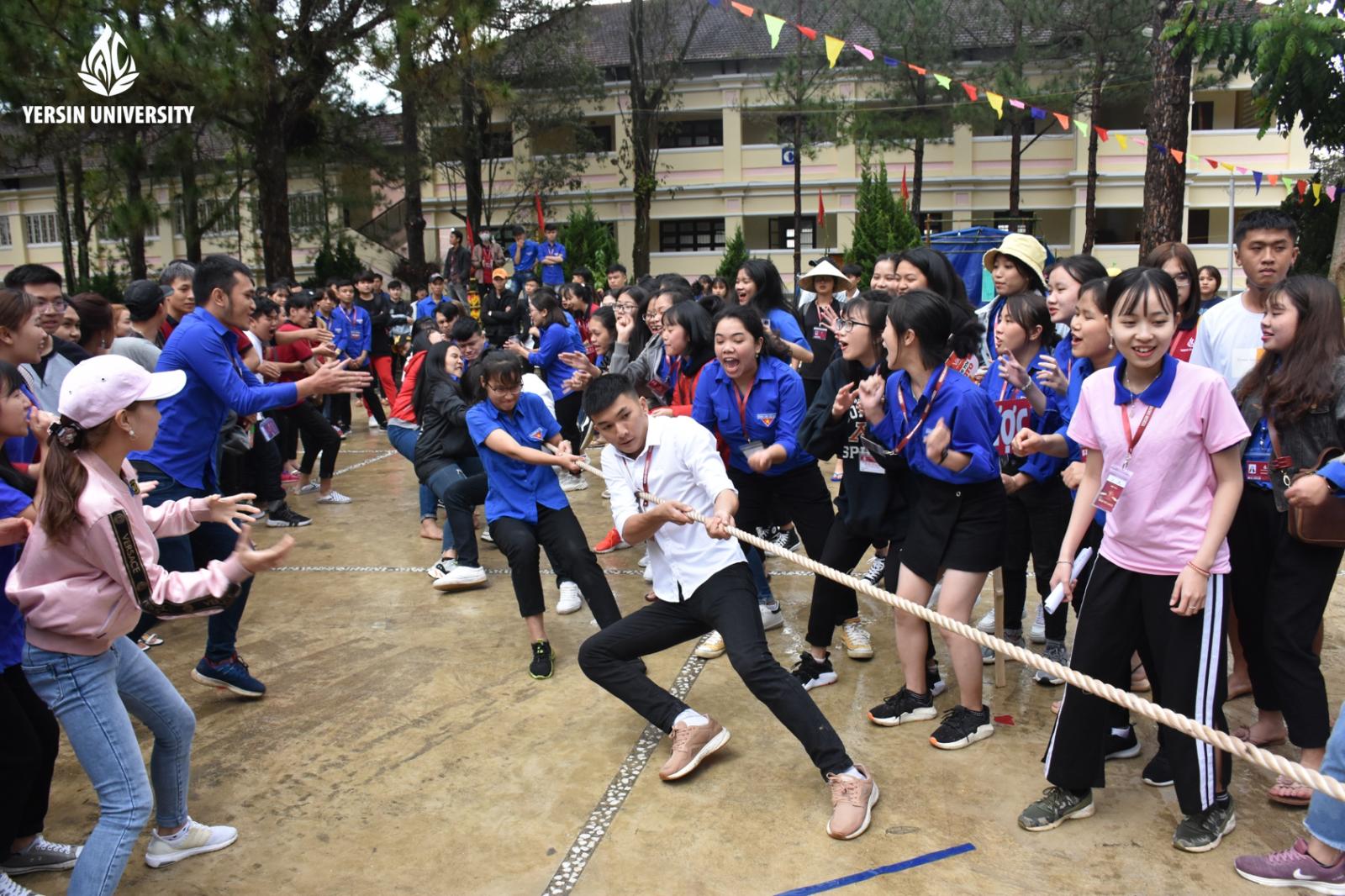 Hội trại, 15 năm, Trường Đại học Yersin Đà Lạt