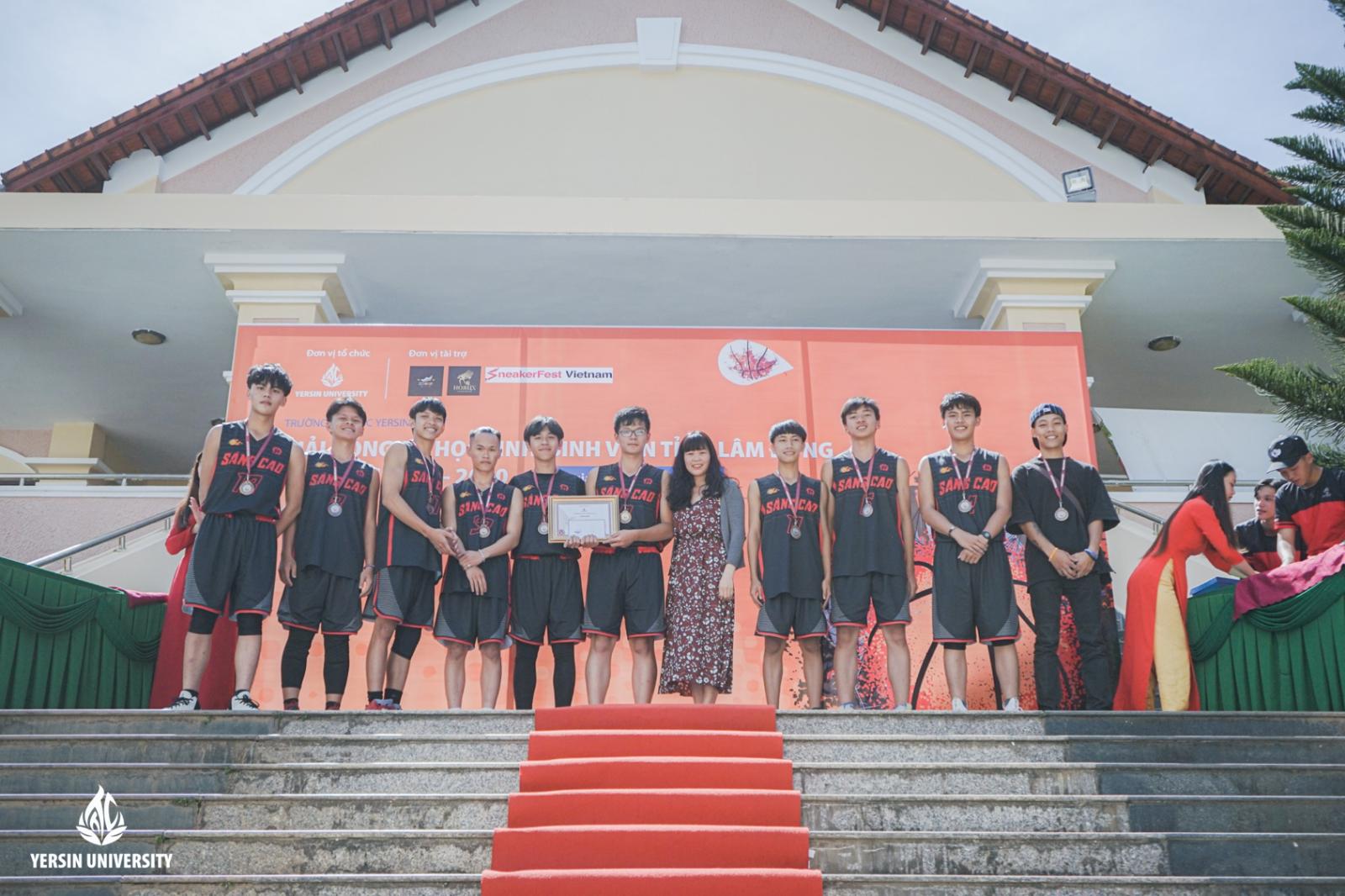 Giải bóng rổ, tỉnh Lâm Đồng, Trường Đại học Yersin Đà Lạt