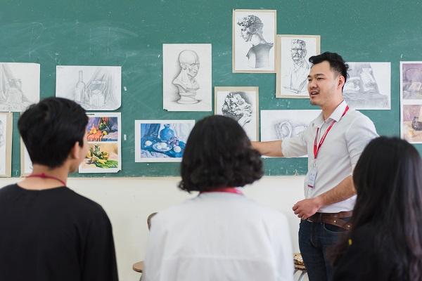 Ngành Thiết kế nội thất sẽ được đào tạo các kiến thức về hội họa
