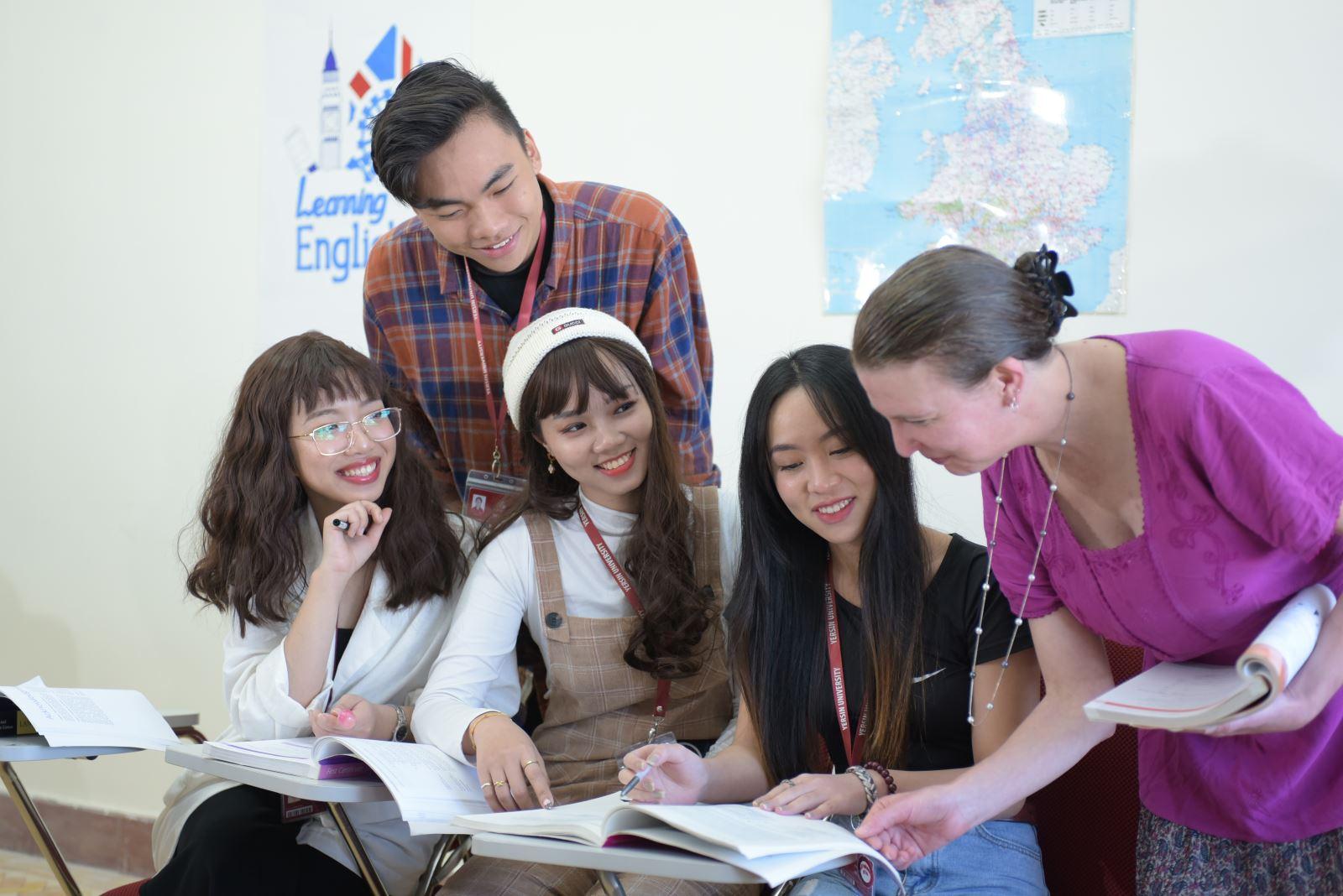 Ngành Ngôn ngữ Anh Trường Đại học Yersin Đà Lạt
