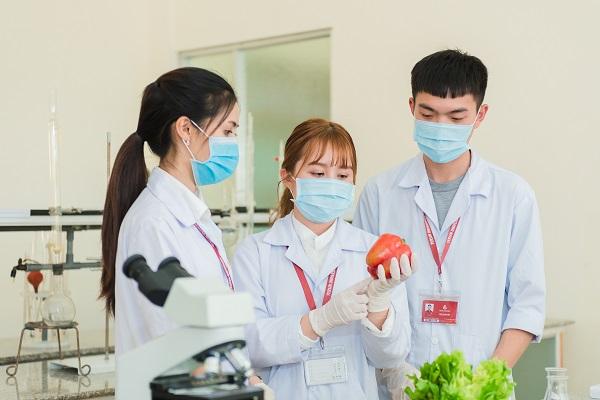 Sinh viên Trường Đại học Yersin Đà Lạt - Ngành Công nghệ thực phẩm