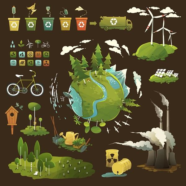 Khoa học môi trường là một ngành được xây dựng trên cơ sở tích hợp các kiến thức của các ngành khoa học