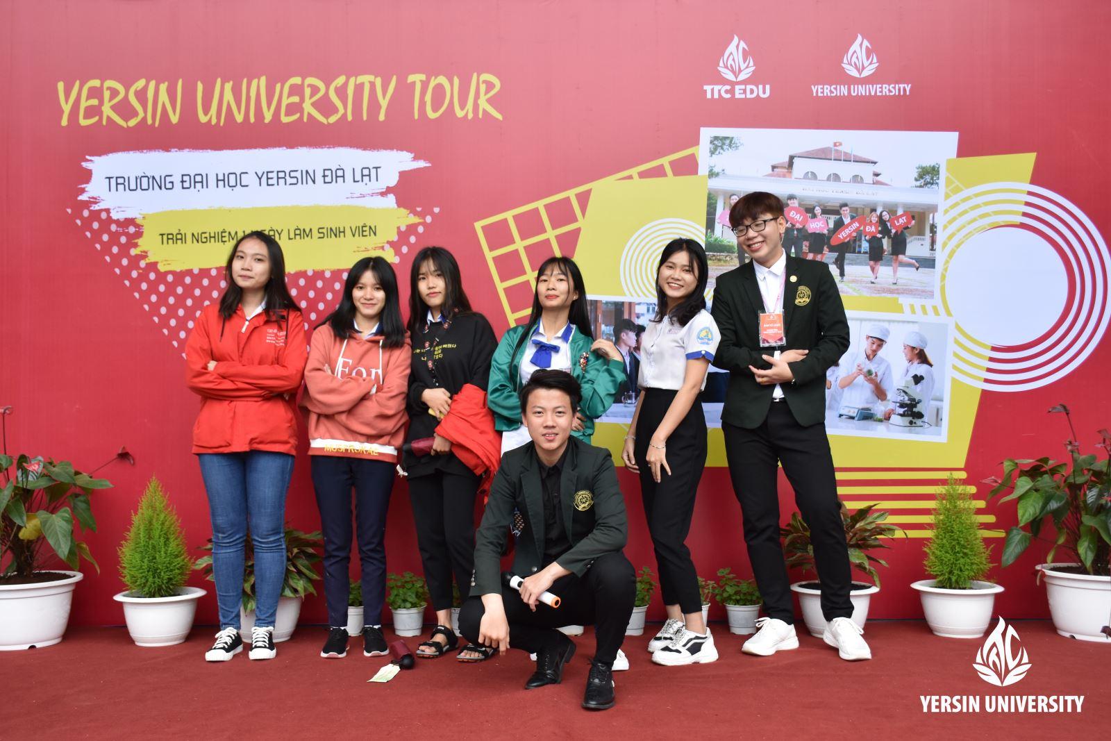 Yersin University Tour